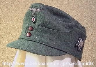 商品展示室・帽子2 陸軍Ⅱ-Schmi...