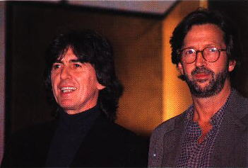 Image result for george harrison eric clapton